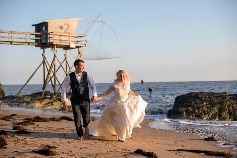 Photos de couple à la mer, Bernerie-en-Retz