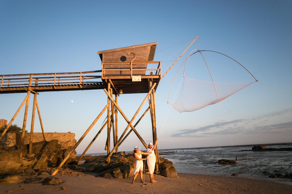 Shooting photo de couple à la mer, Bernerie-en-Retz