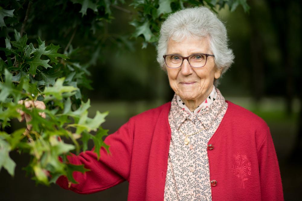 Portrait grand-mère Nantes Rezé